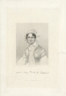 Barbara Hofland (née Wreaks), by Edward Francis Finden, published by  W.J. Cleaver - NPG D7616