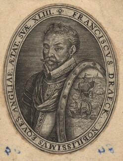 Sir Francis Drake, after Jean Rabel, 17th century - NPG D7618 - © National Portrait Gallery, London