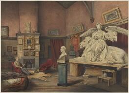 (Pietro) Carlo Giovanni Battista Marochetti, Baron Marochetti, by Vincent Brooks, after  John Ballantyne, 1860s - NPG D7620 - © National Portrait Gallery, London