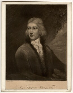 Sir Peter Francis Bourgeois, by Samuel William Reynolds, after  James Northcote - NPG D764