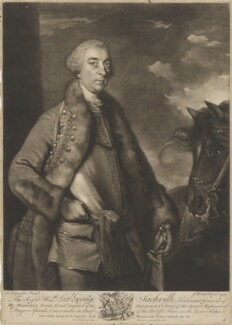 George Sackville Germain, 1st Viscount Sackville, by James Macardell, after  Sir Joshua Reynolds - NPG D7641