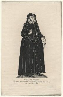 Anne Turner (née Norton), after Unknown artist - NPG D7643