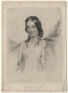 Anne Sutherland-Leveson-Gower, Duchess of Sutherland, by William Henry Mote, after  John Hayter - NPG D7646