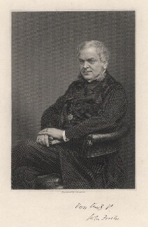 John Forster, by Charles Henry Jeens, 1860s-1870s - NPG D7647 - © National Portrait Gallery, London