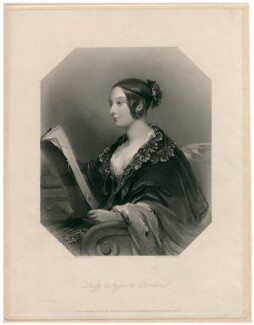 Lady Augusta Gordon-Hallyburton (née Fitzclarence), by John Henry Robinson, after  John Hayter - NPG D7654