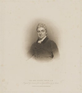 Sydney Smith, by Samuel Freeman, published by  T. Cadell & W. Davies, after  John Wright, published 4 February 1817 - NPG D7661 - © National Portrait Gallery, London