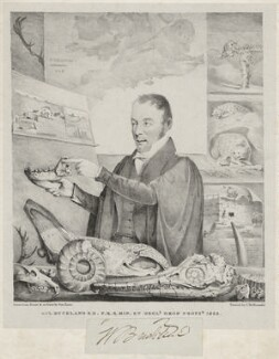 William Buckland, by George Rowe, printed by  Charles Joseph Hullmandel - NPG D7669