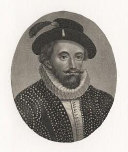 Sir Walter Ralegh (Raleigh), after Unknown artist - NPG D7672