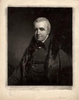 Bartholomew Bouverie, by William Ward, after  John Jackson - NPG D769