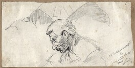 Alfred Tristram Lawrence, 1st Baron Trevethin, by Sir Leslie Ward - NPG D7692