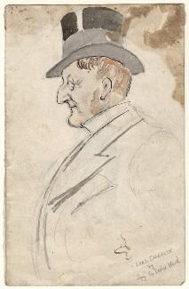 Henry Chaplin, 1st Viscount Chaplin, by Sir Leslie Ward, late 19th century - NPG D7697a - © National Portrait Gallery, London