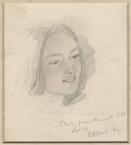 Henrietta Mary Ada Ward, by Edward Matthew Ward - NPG D7706