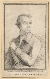 William Julius Mickle, by Charles (Cantelowe, Cantlo) Bestland, after  Ozias Humphry - NPG D7709