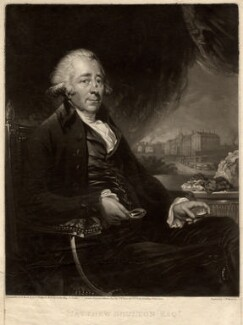 Matthew Boulton, by and published by Samuel William Reynolds, after  Carl Fredrik von Breda, published 1 March 1796 - NPG D771 - © National Portrait Gallery, London