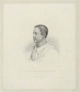 Sir William Gell, by Fenner Sears and Co, printed by  Lloyd & Henning, after  Thomas Uwins - NPG D7712