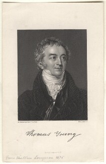 Thomas Young, by Henry Adlard, after  Sir Thomas Lawrence,  - NPG D7714 - © National Portrait Gallery, London