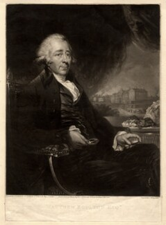 Matthew Boulton, by and published by Samuel William Reynolds, after  Carl Fredrik von Breda - NPG D772