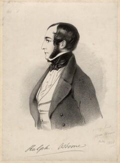 Ralph Bernal Osborne, by Richard James Lane, after  Alfred, Count D'Orsay - NPG D7722