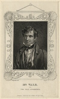 Samuel Vale as the Idle Apprentice, by John Rogers, published by  George Virtue, after  Thomas Charles Wageman - NPG D7723