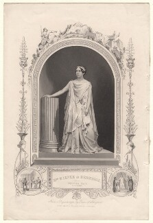 Mary Amelia Warner as Hermione in 'The Winter's Tale', published by John Tallis & Company, after  William Paine, circa 1850 - NPG  - © National Portrait Gallery, London
