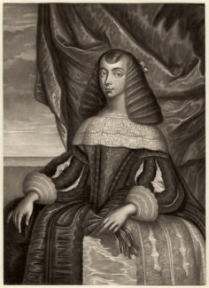 Catherine of Braganza, by Robert Dunkarton, after  Dirk Stoop - NPG D7740