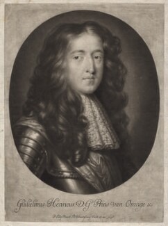 King William III when Prince of Orange, by Abraham Blooteling (Bloteling), after  Sir Peter Lely - NPG D7748