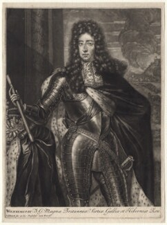 King William III, by Pieter Schenck, after  Unknown artist - NPG D7750