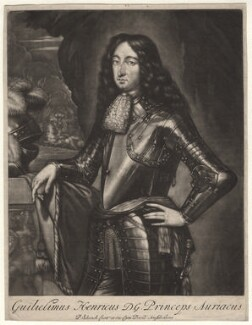 King William III when Prince of Orange, by Pieter Schenck, after  Unknown artist - NPG D7752