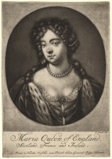 Queen Mary II, by Pieter Schenck - NPG D7761