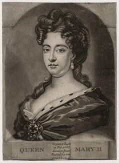 Queen Mary II, after Sir Godfrey Kneller, Bt - NPG D7764