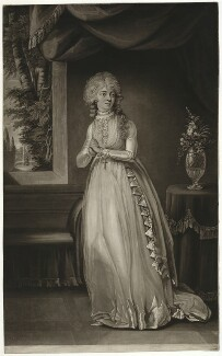 Tryphosa Jane Wallis (later Campbell), by Joseph Grozer, after  John Graham - NPG D7774