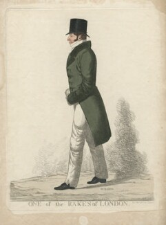 Thomas Raikes ('One of the rake's of London'), by and published by Richard Dighton, reissued by  Thomas McLean - NPG D7778
