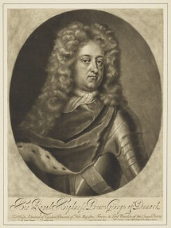 Prince George of Denmark, Duke of Cumberland, by John Simon, after  Michael Dahl - NPG D7783