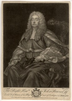 John Bowes, Baron Bowes, by John Brooks, published by  Thomas Jefferys, published by  William Herbert - NPG D779