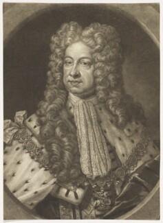 King George I, by John Faber Jr, after  D. Stevens - NPG D7795