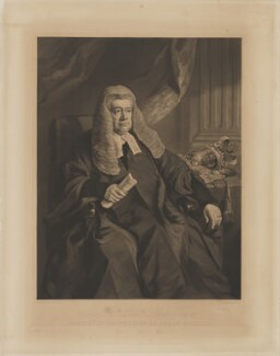 Thomas Wilde, 1st Baron Truro, by George Zobel, after  Sir Francis Grant, published 1851 - NPG D7798 - © National Portrait Gallery, London