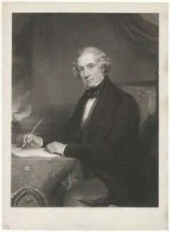Sir Josiah John Guest, 1st Bt, by and published by William Walker, after  Richard Buckner, published 5 April 1852 - NPG D7804 - © National Portrait Gallery, London