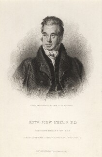 John Philip, by James Thomson (Thompson), published by  Westley & Davis, after  Wildman - NPG D7806