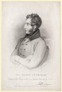 Edward George Earle Lytton Bulwer-Lytton, 1st Baron Lytton, by James Thomson (Thompson), after  Frederick Richard Say - NPG D7810