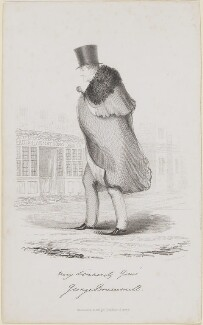 Beau Brummell, by R.H. Cooke - NPG D7812