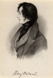 Benjamin Disraeli, Earl of Beaconsfield, after Alfred, Count D'Orsay - NPG D7814