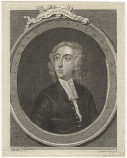 Joseph Spence, by George Vertue, after  Isaac Whood - NPG D7818