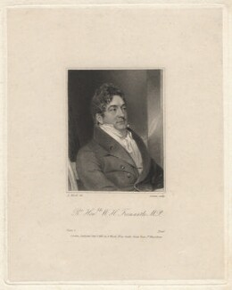 Sir William Henry Fremantle, by Edward Scriven, after  Abraham Wivell - NPG D7820