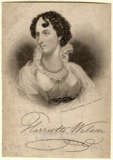 Harriette Wilson (née Dubouchet), by James Thomson (Thompson), after  George Clint - NPG D7821