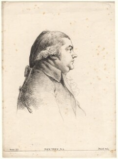 John Yenn, by William Daniell, after  George Dance - NPG D7825