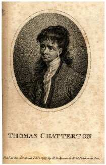 Unknown boy engraved as Thomas Chatterton, after Unknown artist - NPG D7830