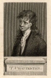 Unknown boy engraved as Thomas Chatterton, after Unknown artist - NPG D7831