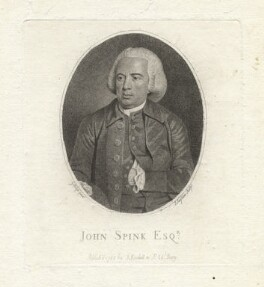 John Spink, by Joseph Singleton, after  George Keith Ralph - NPG D7838