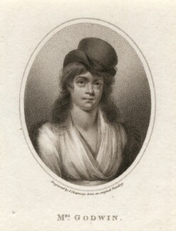 Mary Wollstonecraft, by John Chapman, after  Unknown artist, published 1798 - NPG D7842 - © National Portrait Gallery, London
