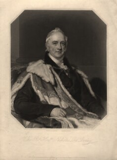 Nicholas Vansittart, Baron Bexley, by Thomas Anthony Dean, after  Sir Thomas Lawrence - NPG D7843